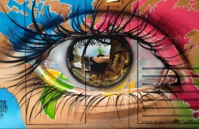 Sabe o que acontece quando aliamos a arte urbana aos ODS?