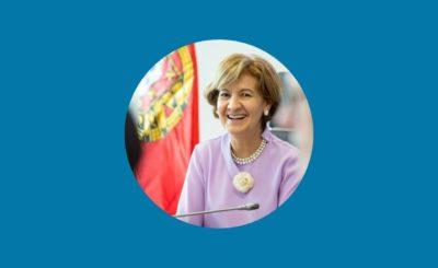 Mensagem da Secretária de Estado dos Negócios Estrangeiros e da Cooperação, Teresa Ribeiro