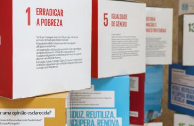 Cubos ODS na Câmara do Porto Santo