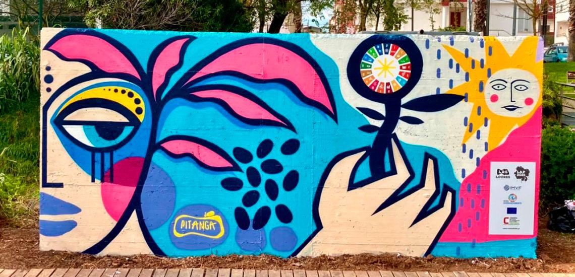 Município de Loures promove arte urbana em prol dos ODS
