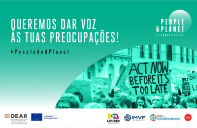 Queremos dar voz às preocupações dos jovens europeus sobre alterações climáticas