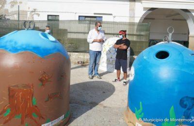 Vidrões ODS de jovens artistas em Montemor-o-Novo